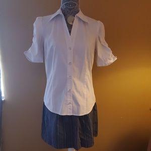 Gap pin stripe skirt